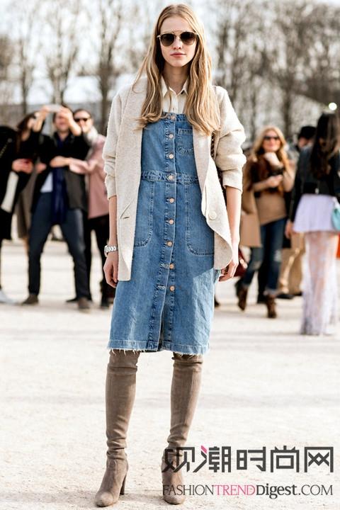 巴黎时装周场外最会穿的10位人气名模