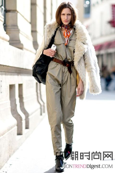 巴黎时装周场外最会穿的10位...