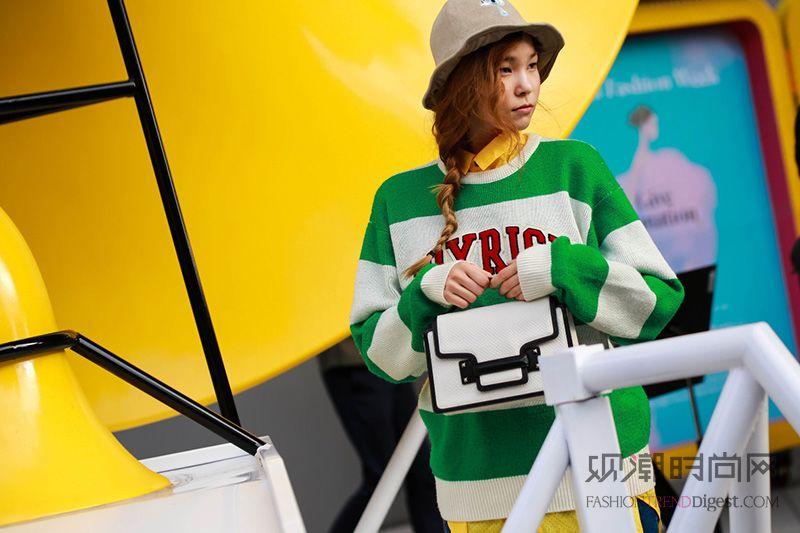 首尔时装周街拍——利落清爽的...