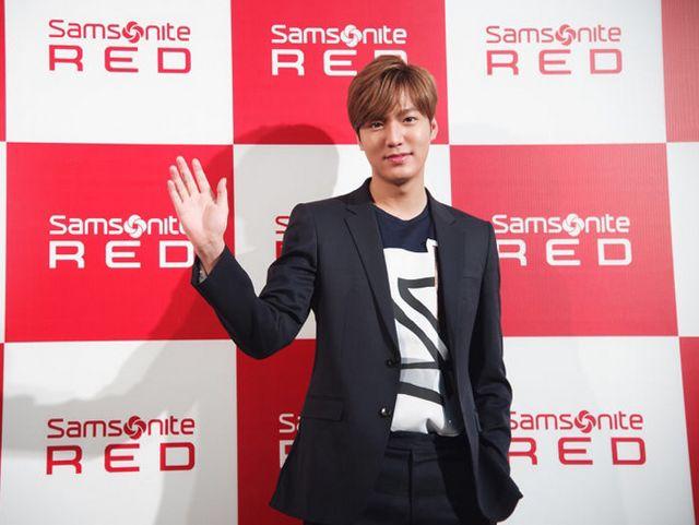 """李敏镐演绎""""Samsonite Red红标主张"""" Samsonite Red 2015春夏系列发布会潮动申城"""