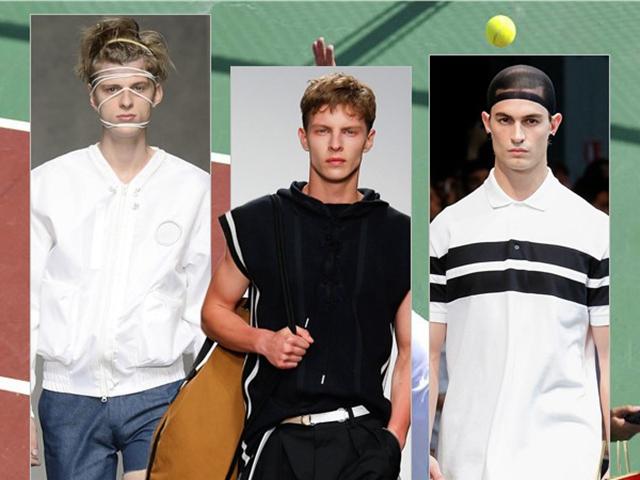 运动男孩迸发活力能量!2015春夏男装流行趋势之运动风