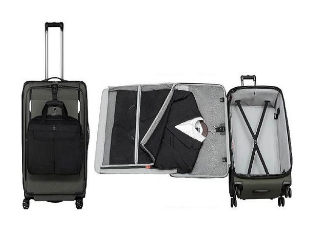 VICTORINOX WERKS TRAVELER 5.0系列 收纳更多,轻盈设计 五种装箱方案,创造无限可能