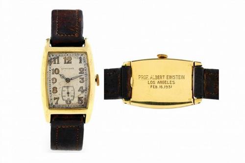 拍卖行拍出的十大名人佩戴过的手表