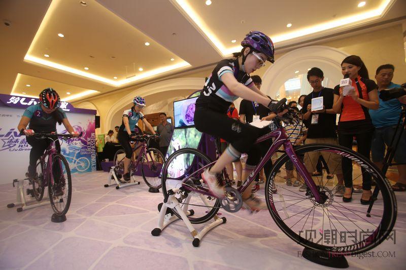"""专属女生的自行车品牌Liv""""..."""