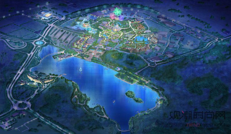 迪士尼小镇:来自全球各地的迪士尼创意人才将迪士尼传统与经典中式设计及海派文化元素进行了完美融合。传统海派石库门建筑风格被充分运用于迪士尼小镇,以展现上海这一独特的传承,并在色彩、艺术装饰和铺装石的设计上也都蕴含了丰富的中国元素。 漫月轩:这个位于上海迪士尼乐园内的餐厅旨在向游历中国大地、充满艺术创作情怀的文人墨客致敬。这座建筑呈现了原汁原味的传统中式建筑风格,以高山、海洋、沙漠、森林和河流五大自然风貌为主题,赞颂了中华大地的锦绣风光。游客可在此享用中式面点和米饭菜肴,还可品尝采自当地和周边地区