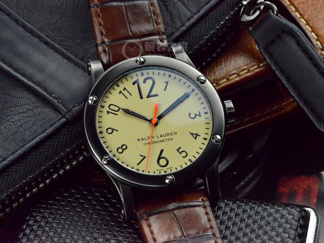 复古陈旧的沧桑感拉夫劳伦游猎系列RL67腕表