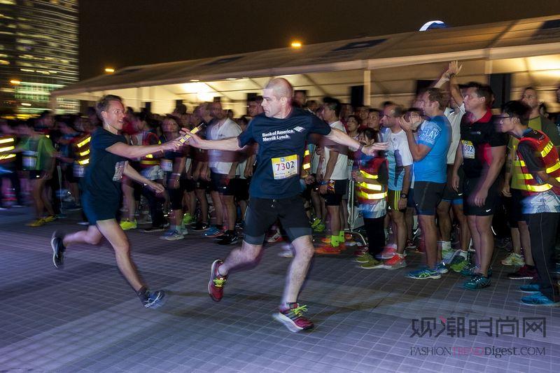 上海接棒2015彭博一英里接力赛
