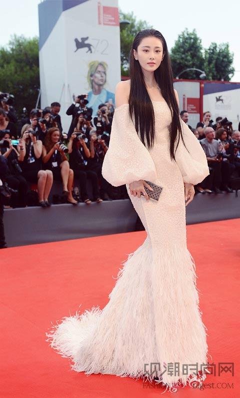 2015威尼斯国际电影节红毯着装