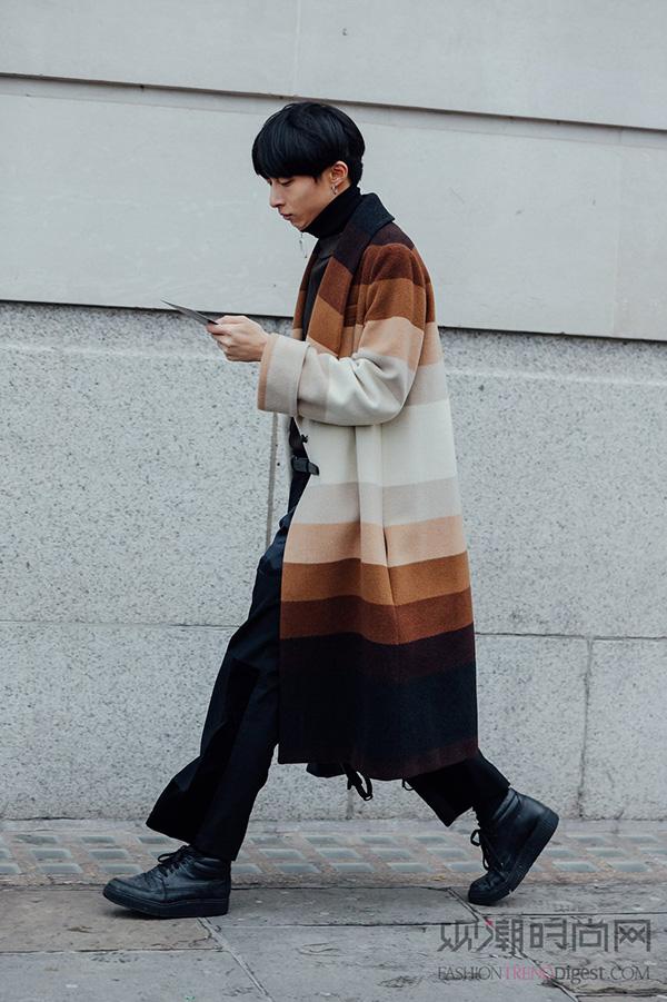 2016秋冬伦敦男装周街拍