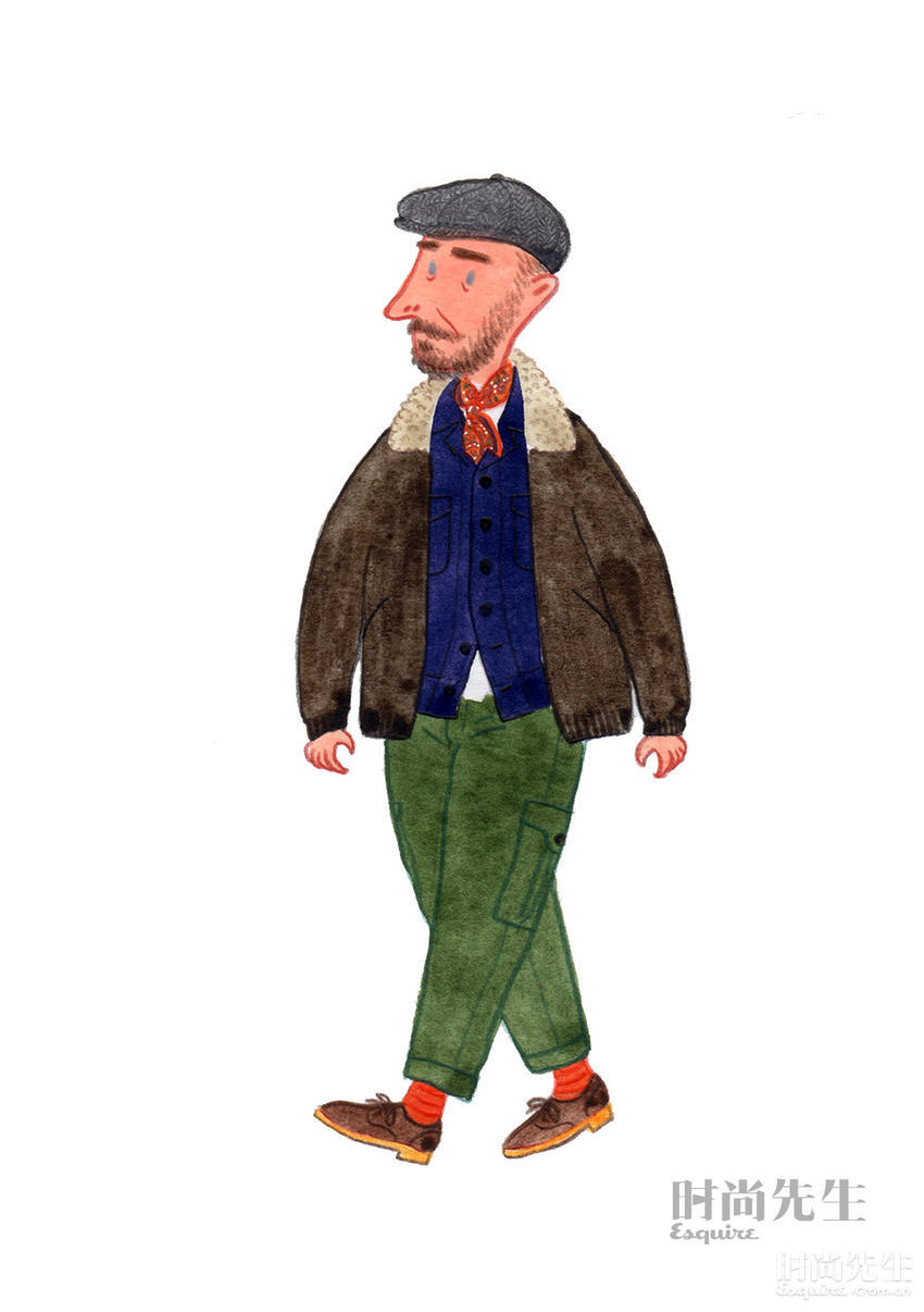6个典型英国男人的穿衣指南