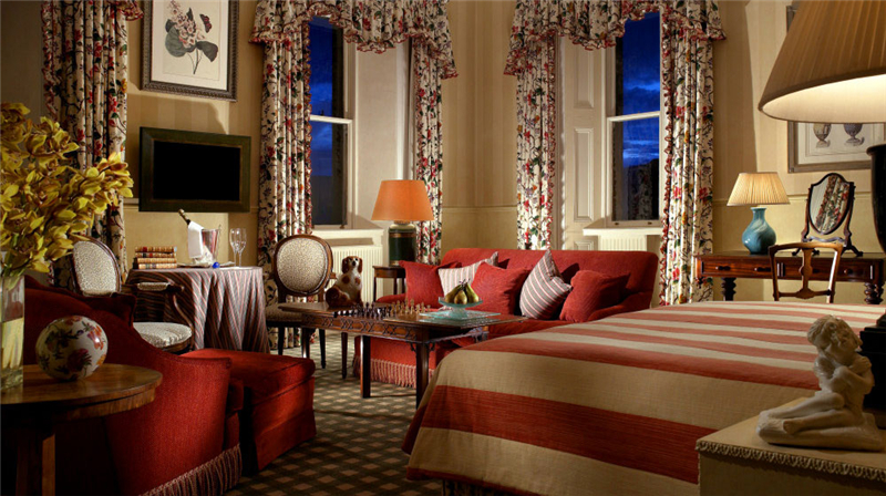 英伦十大古堡酒店 住进魅惑的...