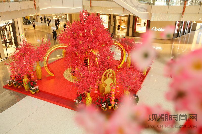 上海ifc商场百猴贺岁迎新春