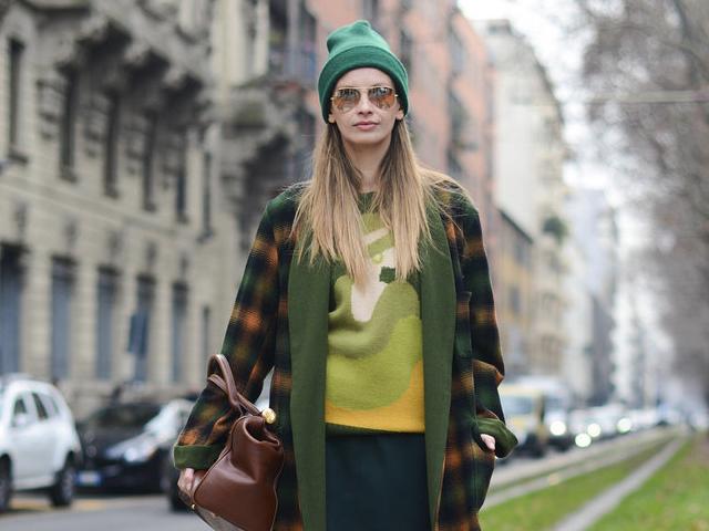 欧美街拍:冬季穿衣要讲究,搭配完美很点赞