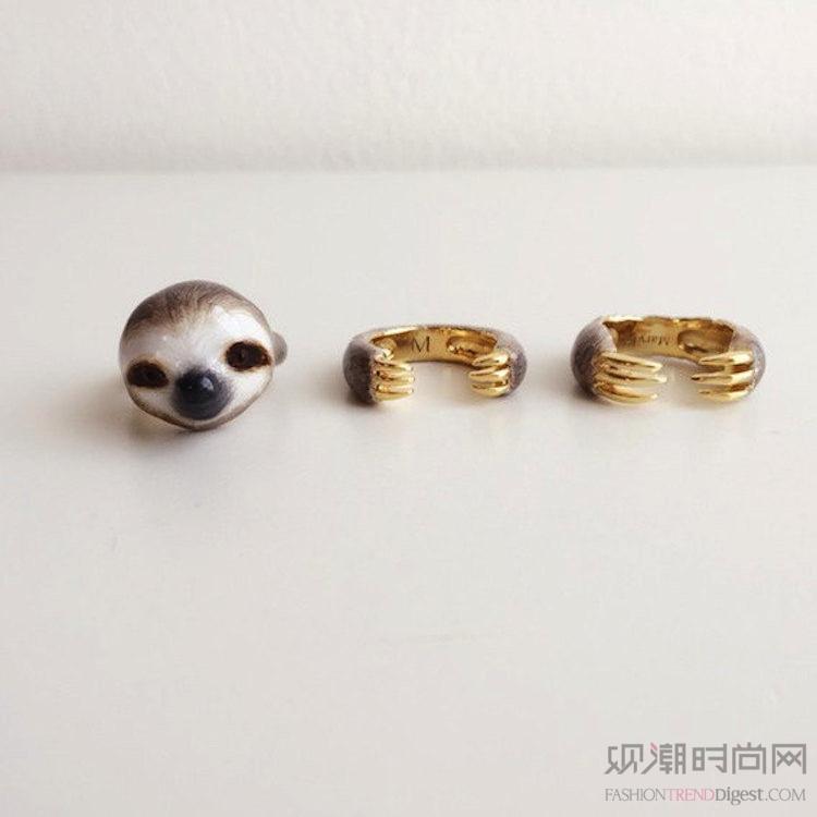 迷人的三件套戒指让你看起来就...