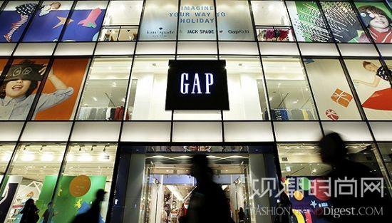 Gap第三季度净收入下跌18%