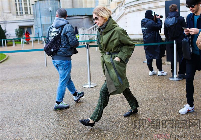 气场爆表的冬季大衣第五弹墨绿色系