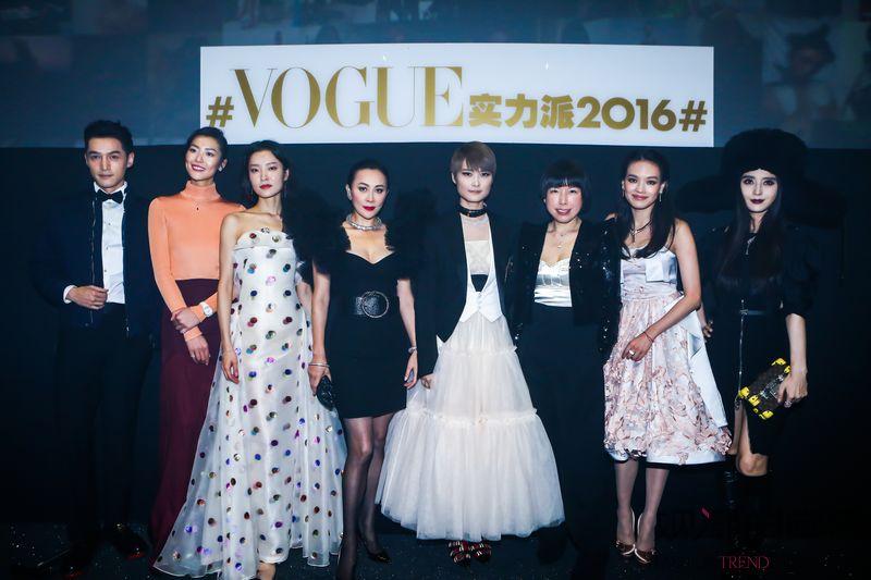 Vogue实力派演绎时尚风范...
