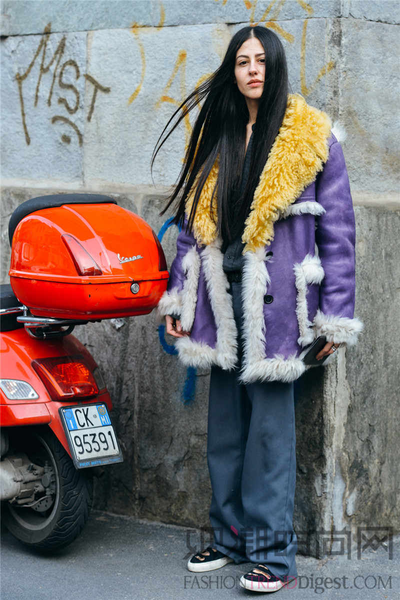 气场爆表的冬季大衣第二弹彩色系