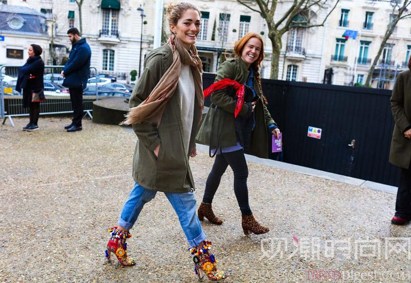 高帮鞋一定是时尚星人都爱不释...