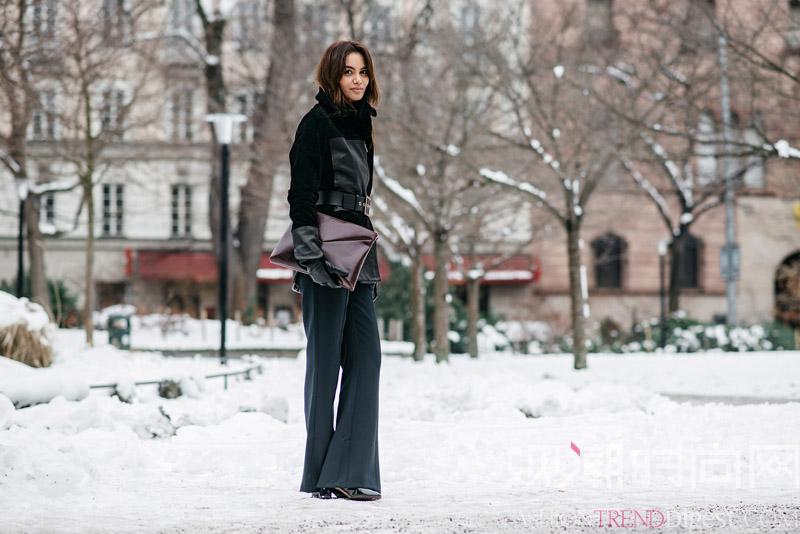 穿裙子已经够美,偏偏能把裤装...