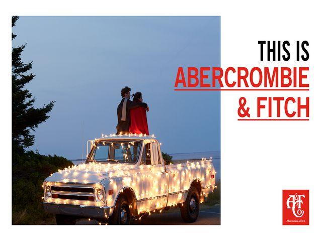 不一样的Abercrombie&Fitch 就从现在开始