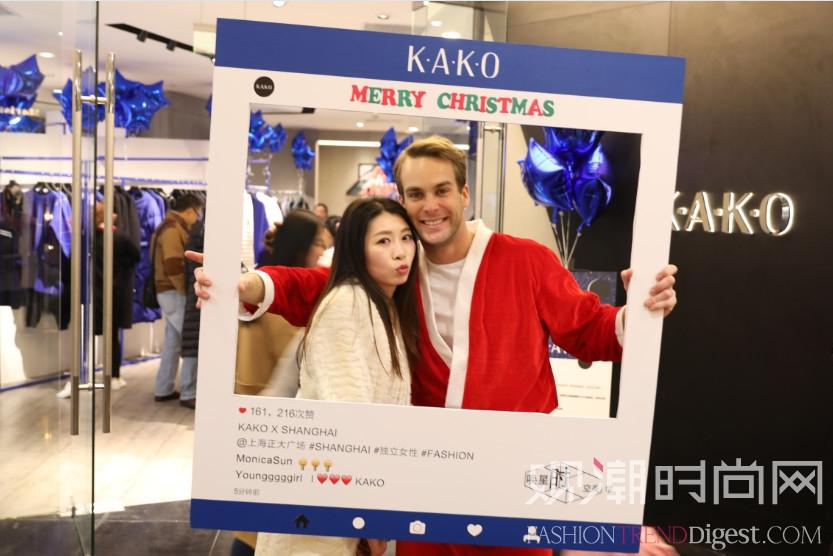 "KAKO女装正大广场圣诞""唤..."
