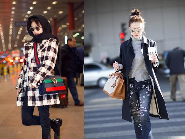 穿大衣的季节搭配啥包包?看女明星们就知道了!