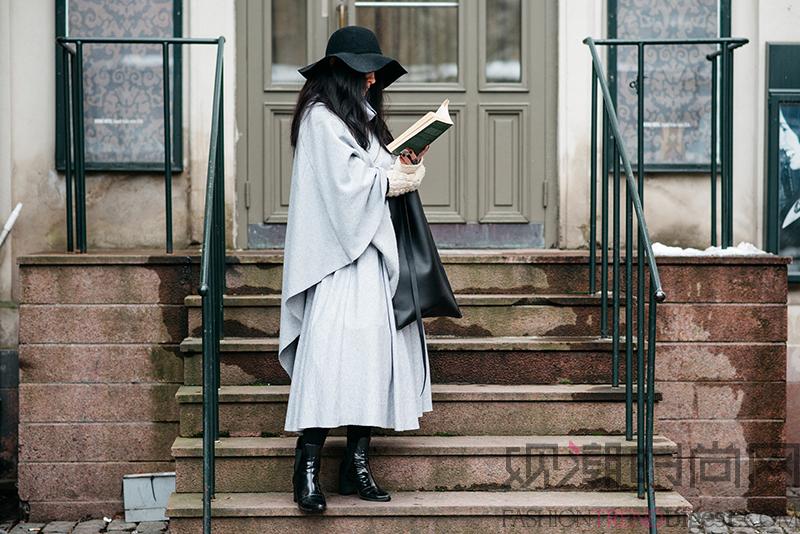 如何将永不过时的经典黑白配穿...