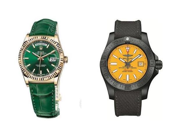 欢乐的圣诞月 来几款吸睛亮色腕表吧