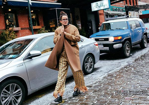 2016秋冬纽约时装周街拍(上)