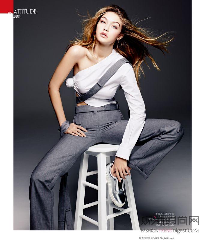 超模Gigi Hadid变身...
