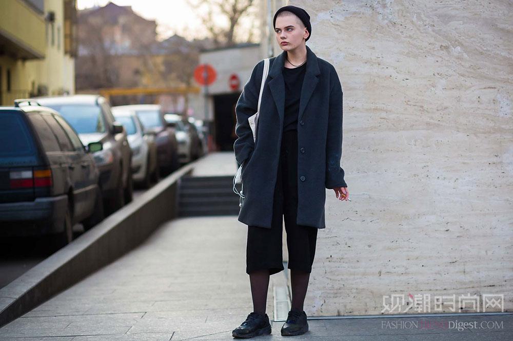 2016秋冬俄罗斯时装周街拍