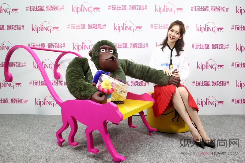 Kipling主题猴巡展揭幕...