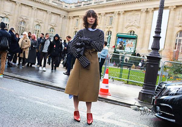 2016秋冬巴黎时装周街拍
