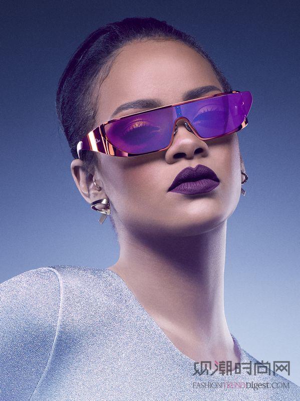 迪奥携手蕾哈娜推出全新太阳眼镜