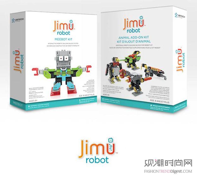 优必选科技Jimu机器人正式...