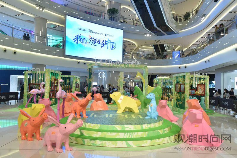 环贸iapm商场「夏日动物王国」主题展 美国艺术家kiyoshi mino亲临