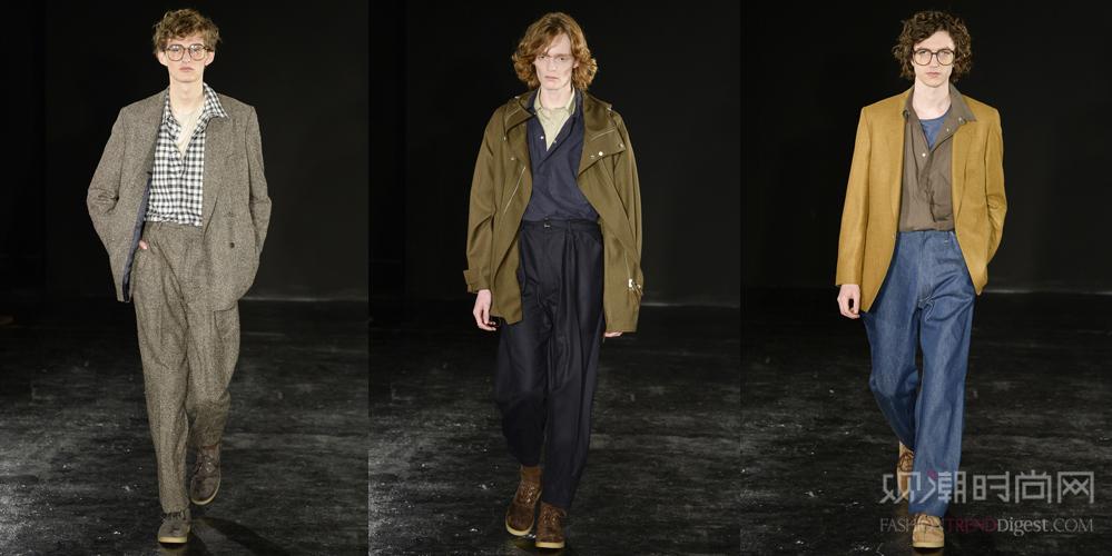 2017秋冬伦敦男装周(三)