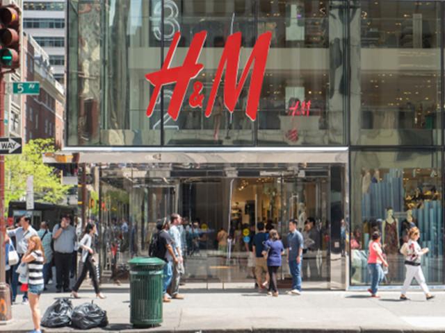 H&M 12月销售额增长6%未达预期