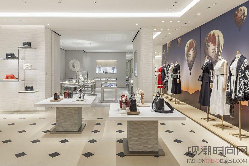 迪奥上海恒隆广场全新旗舰店盛大开业