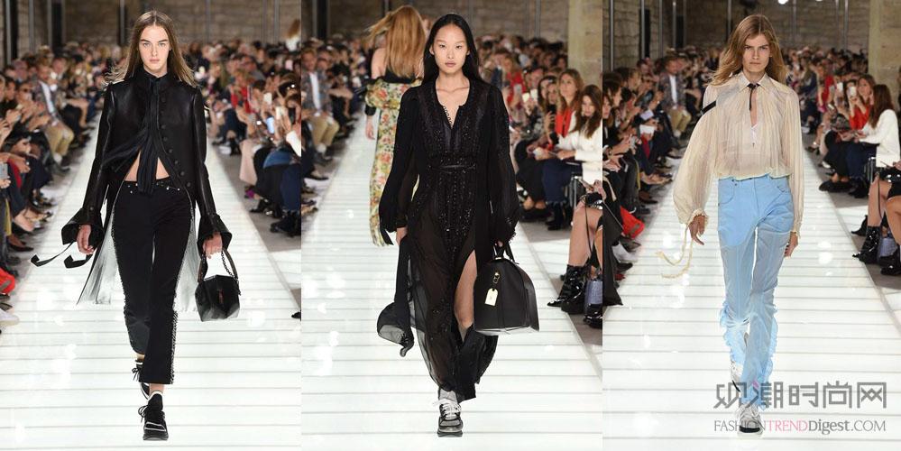 2018春夏巴黎时装周(一)