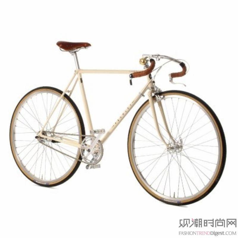 玩转复古时髦,自行车上的时间...