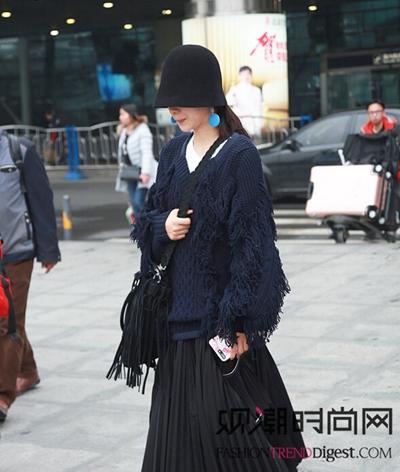 杨乐乐、江疏影这些时髦女明星...
