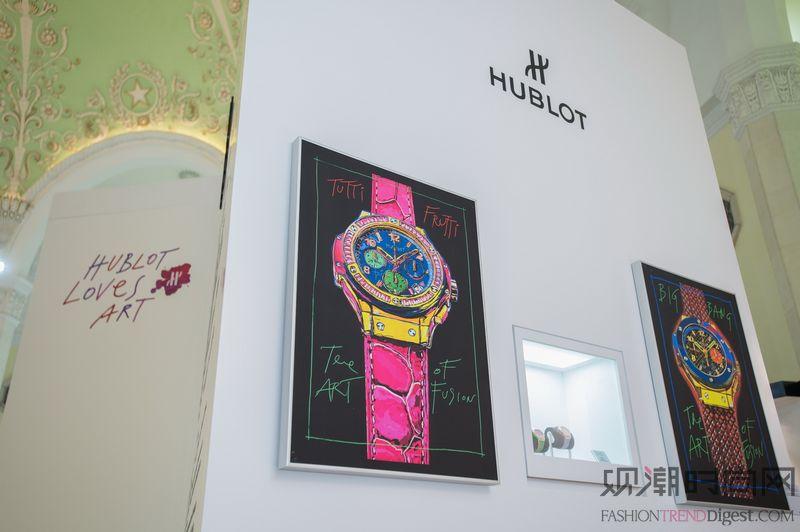 """""""宇舶爱艺术""""展览绽放第五届..."""