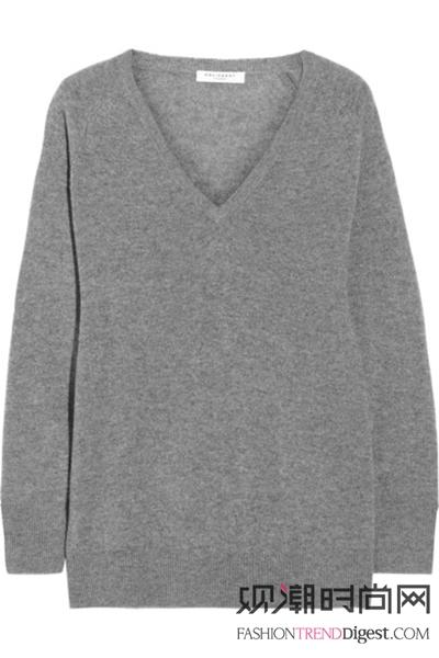 衬衣+毛衣的叠穿文艺范儿,你懂吗?