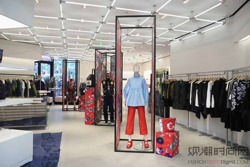KENZO中国上海太古汇概念...