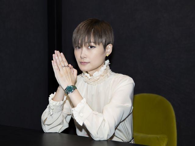李宇春出席GUCCI腕表首饰中国南京巡展