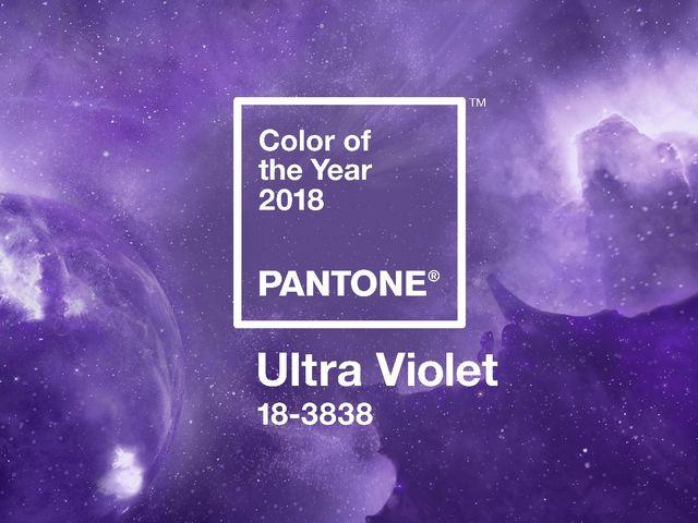 彩通公布2018年度代表色:PANTONE® 18-3838 紫外光色