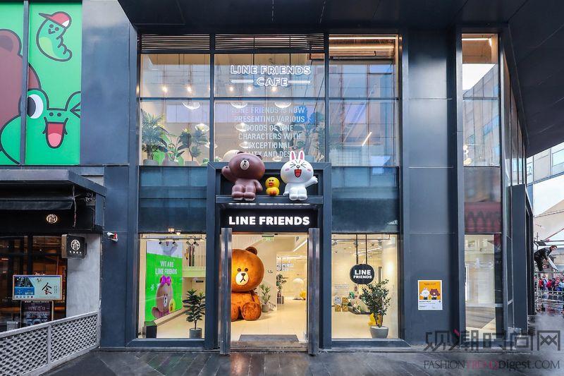 LINE FRIENDS打造首家摩登风格新门店 诠释鲜