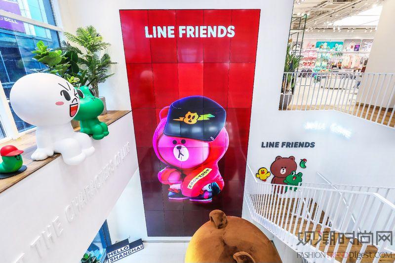 LINE FRIENDS打造...